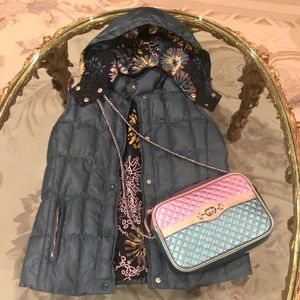 Missoni puffer vest with $42 gift Italy bangle